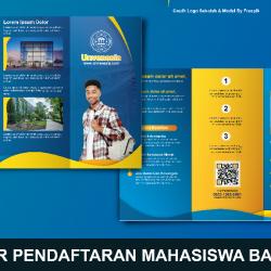 Download Brosur Mahasiswa Baru CorelDraw Dan Photoshop
