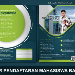 Download Brosur Pendaftaran Mahasiswa Baru Photoshop