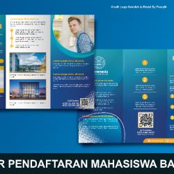 Download Brosur Penerimaan Mahasiswa Baru Coreldraw Gratis