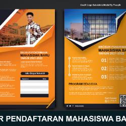 Download Brosur Mahasiswa Baru photoshop Gratis