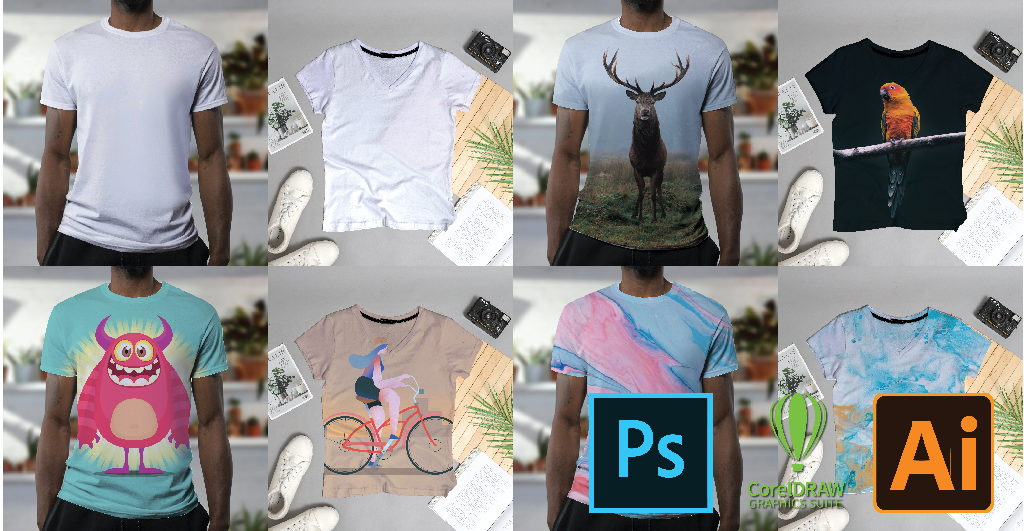 Cara Membuat Mockup Kaos Coreldraw Dan Photoshop