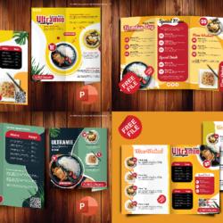 Kumpulan Brosur Makanan Kreatif Powerpoint Gratis