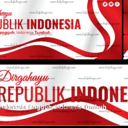 Desain Banner 17 Agustus 2021 photoshop Gratis
