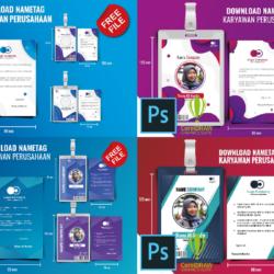 Download ID Card Karyawan Coreldraw 4